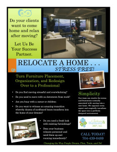RELOCATE A HOME, STRESS FREE