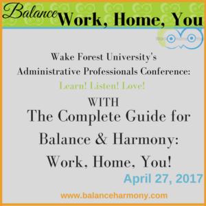 2017 Administrative Professionals Conference @ WinMock at Kinderton | Bermuda Run | North Carolina | United States