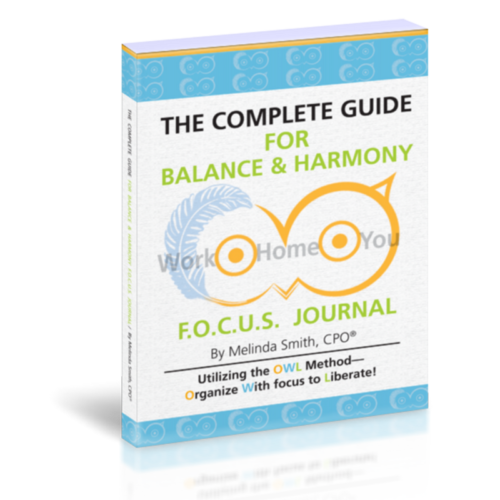 focus journal to balance life