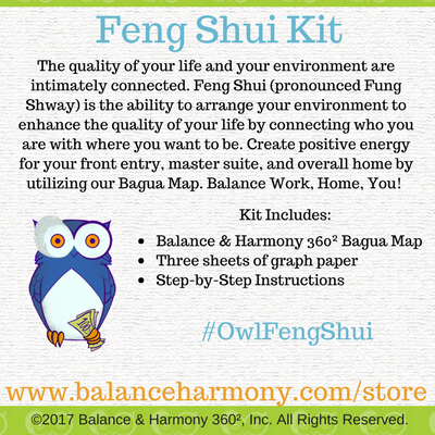 Feng Shui, Feng shui energy, balance your home