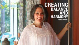creating balance and harmony