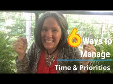 6 Ways to Manage Time & Priorities; Time Management Course Online